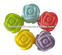 Durable,non toxic and Ecofriendly color full Rose shape moulds for cakes and Jelly
