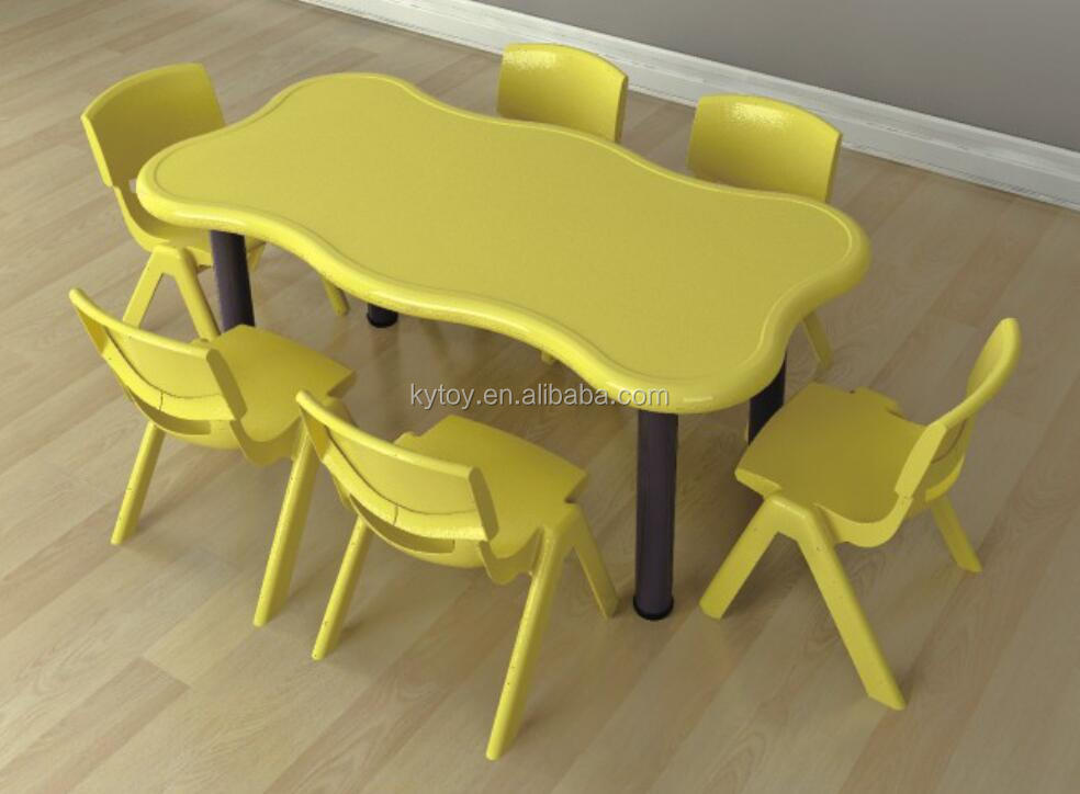 Attractive New Kindergarten Tables and Chairs for Kids