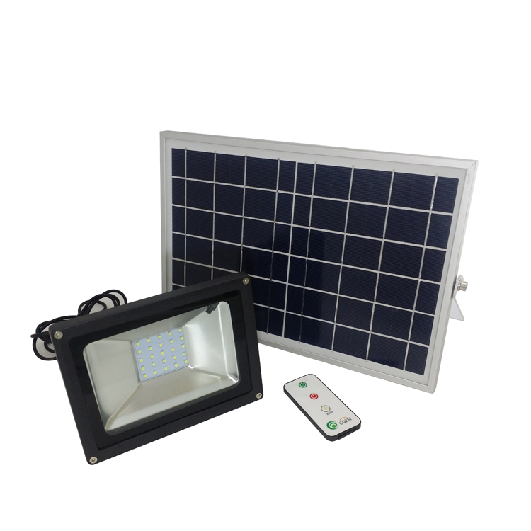 High efficiency waterproof best quality rechargeable led solar flood light