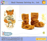 Make your own cute tube happy baby christmas decoration cozy socks