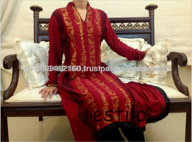 Red Color Lady's Indian Style Dress for Sale