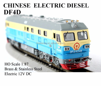 DF4D , 1:87 HO electric train (brass made)
