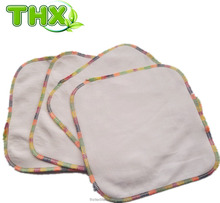 Reusable Soft Organic Cotton Wash Cloth Baby Wipes