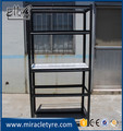 5 layers black boltless warehouse shelf