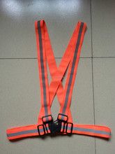 high vis reflective safety belt vest for running/jogging/riding