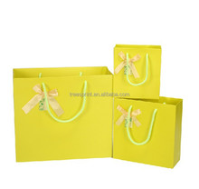 Fashionable original recycle paper bag with logo print