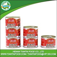 Good taste wholesale price spicy pork cubes