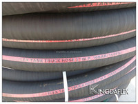 6 Inch Cloth Reinforced Rubber Fuel Diesel Oil Hose With Wire Helix