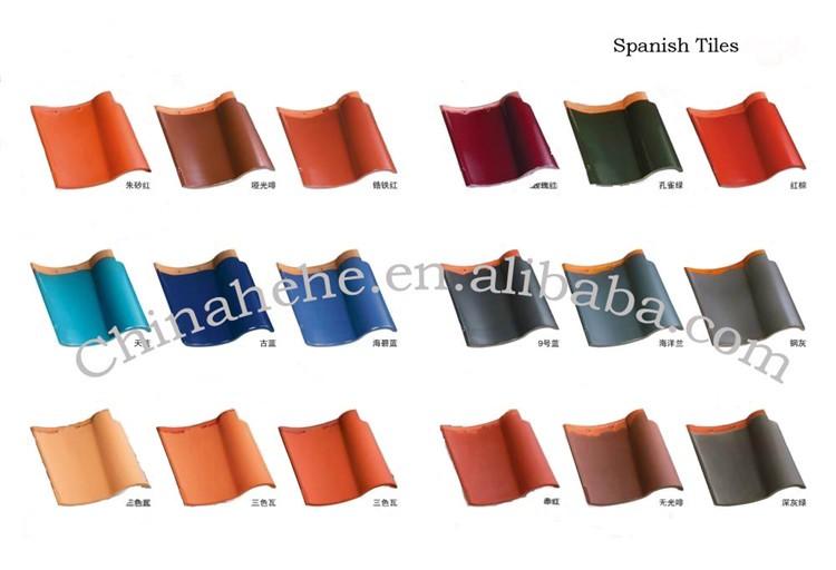 Spanish Style Ceramic Roman Concrete Roof Tile Mould For Sale Factory