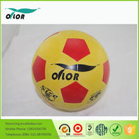 Custom PU cheap laminated inflatable soccer balls