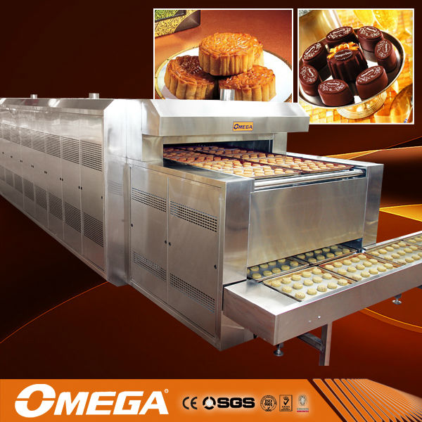 HOT!!!tunel bread oven/cake tunel oven machinery(manufacturer, CE &ISO)