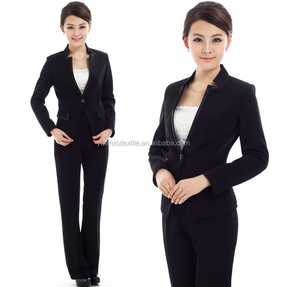 TR Fashion Woven Plain Dyed TR Suiting Fabric For women 's Suit