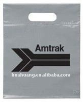 amtrak die cut handle bags