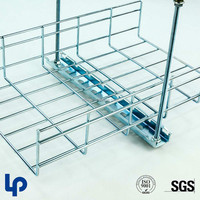 Lepin galvanized welding wire mesh cable tray and accessories