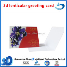 high quality gift paper christmas 3d greeting card for thanksgiving day