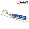 Great Italy Patriotic Souvenir Gift Metal Keychain Ring for promotion gift