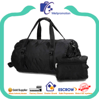 Round mens waterproof foldable travel duffle bag