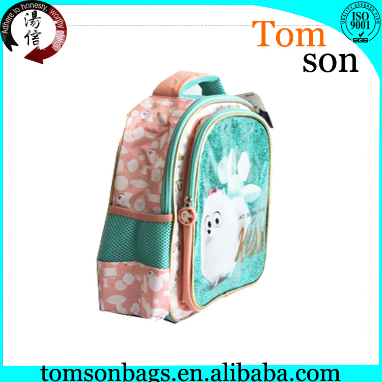 new products 2016 kids school bags with cartoon