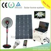 100W Solar Generating DC AC Kit Portable Solar Power System for Household