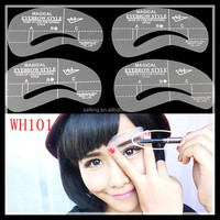 Hotsale Grooming Brow Eyebrow Template Stencil For EYEBROW Beauty WH101