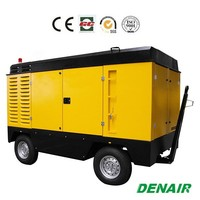 1 stage compression 17m3/min diesel driven portable air compressor