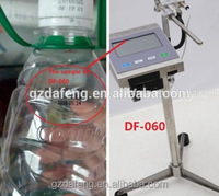 Cheap price automatic ink jet date coding printing machine for PET plastic water bottle