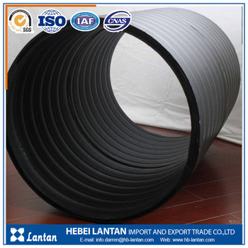 hot sale factory price hdpe double wall corrugated pipe for drainage