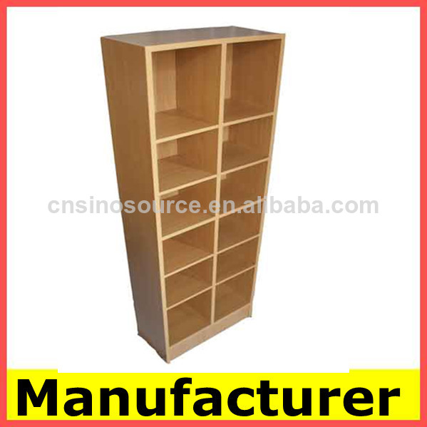 El dise o moderno de madera librer as estanter as del for Diseno de muebles para libros