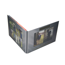 Promotional lcd video brochure card/lcd brochure