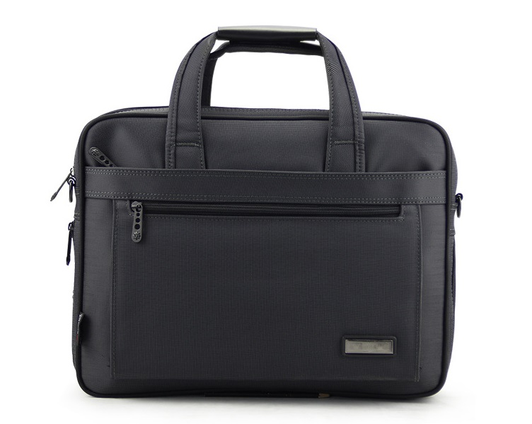 High Quality Laptop Messenger Black Mens nylon Briefcase