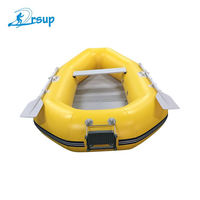 Chinese cheap heavy duty 8 person pvc luxury promarine large boat rigid hull inflatable paddle boat for sale