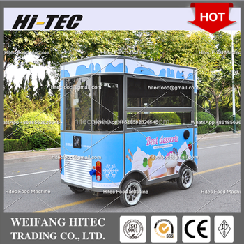 Starter Edition Environmental Protected Electric Drive Mobile Food Cart For Multifunctions