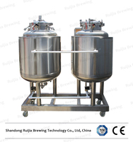 Ruijia high quality microbrewery equipment for hot sale with CE beer equipment cider making supplies