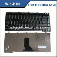Clearance sale laptop keyboard fast delivery notebook parts for toshiba A120 keyboard