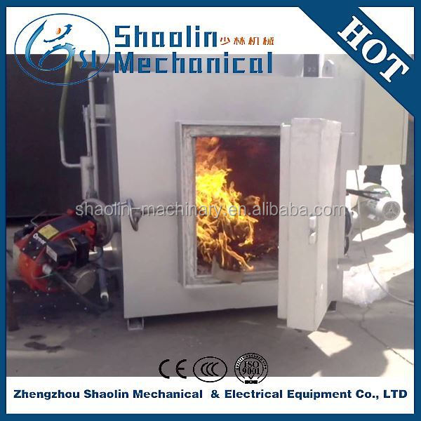 2015 new style solid waste incinerator recycling machine