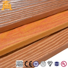 External wall decorative materials wood grain siding for houses
