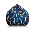 colorful lazy boy bean bag cute mini bag for kids