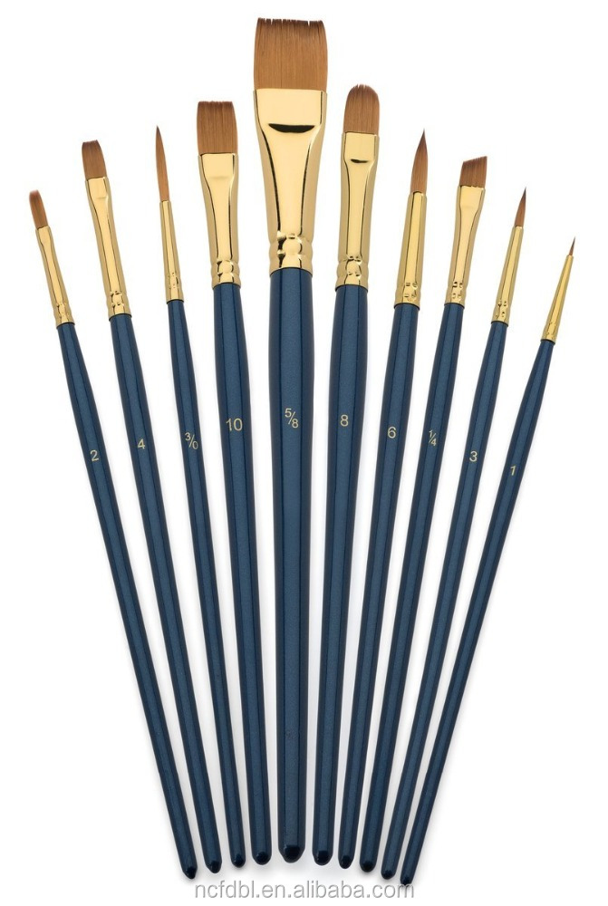 List manufacturers of artist brush set buy artist brush for Wholesale craft paint brushes