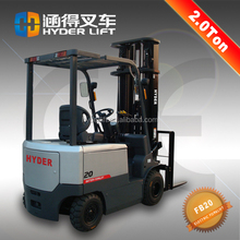 cheap price 2ton tilting barrel forklift trucks from england