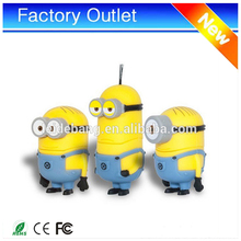 wholesale 2017 New product OEM 8gb minions pendrive usb