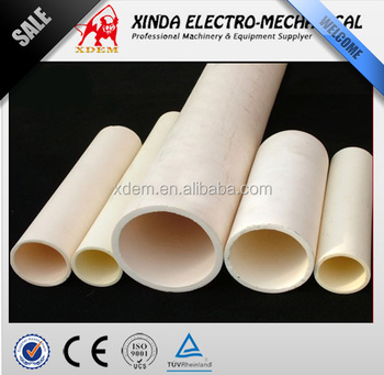 Heat resistant thermal conditivity 99% alumina ceramic tube
