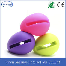 2016 Egg Shaped Colors Mini Speaker Wireless Speaker for iPhone 6