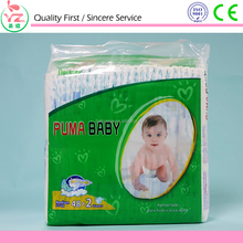 Disposable baby Diaper Type and Babies Age Group Diapers Stock
