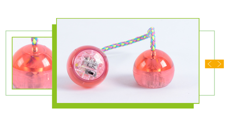 Wholesale cheap kids play finger ball toy led yoyo