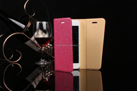 2015 Newest Custom Design Ultra Thin PU Leather Wallet Case For iPhone 6