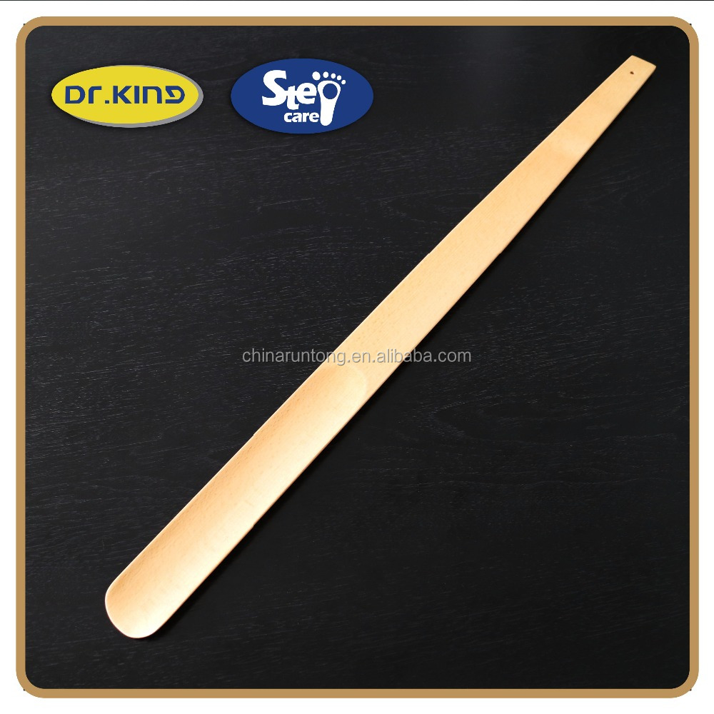 High quality wooden shoe horn /hotel shoe horn