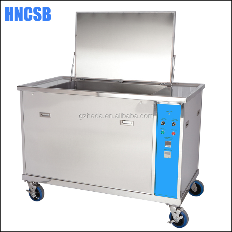 Ultrasonic cleaner with automatic cycle system