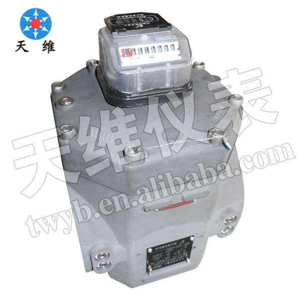 Digital compressed air wet gas meter