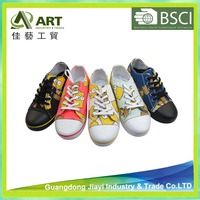 Casual Canvas Shoes for Girl Boys Lace-up Sport Shoes