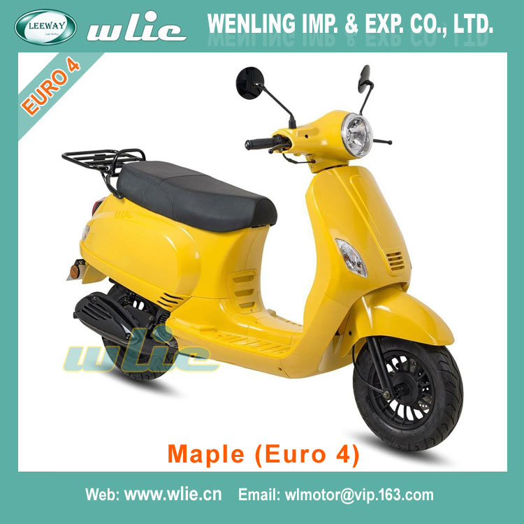 Professional 125cc 150cc gas scooter engine motorcycle 200cc cbf motos china Euro4 EEC Scooter Maple 50cc, (Euro 4)